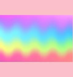 unicorn rainbow wave background mermaid galaxy vector image