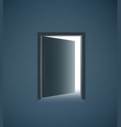 black door vector image