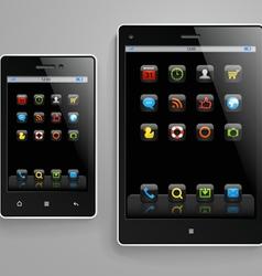 Modern gadgets vector image vector image