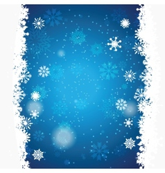 christmas background with space for text vector image vector image