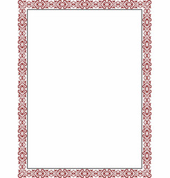 Borders ornamental 6 vector