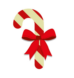 Christmas stick icon vector