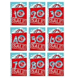 Sale discounts vector image