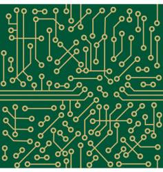 seamless microcircuit vector image vector image