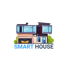 Smart house system automation and control vector