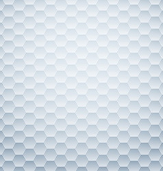 Textured honeycomb background vector image