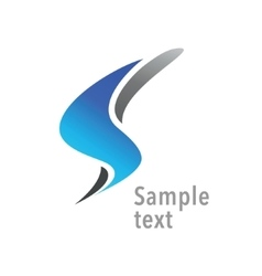 Letter S logo design template vector image vector image
