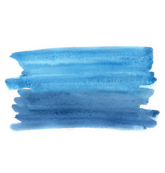 abstract blue and indigo blue watercolor vector image