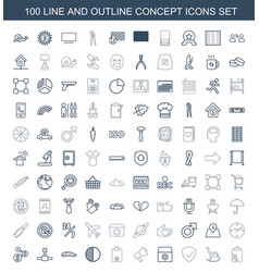 Concept icons vector