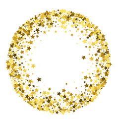 frame or border stars vector image