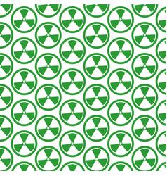 Pattern background radioactivity sign icon vector
