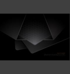 Shaped steel scene in dark vector