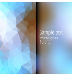 Two abstract surfaces in different textures vector