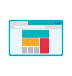 Website online document internet icon vector