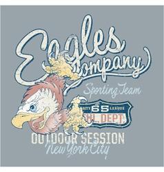 Eagles company vector