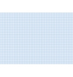 One millimeter graph paper cyan color on a4 size vector image vector image
