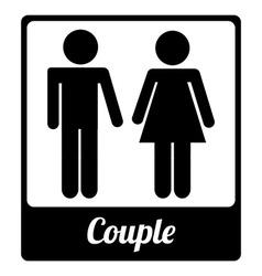 toilet label design vector image
