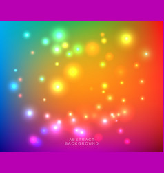 abstract blurred bright colorful background vector image