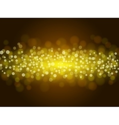 Colorful bokeh background vector image