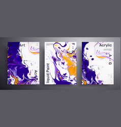 Abstract banner pack modern design vector