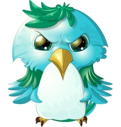 angry bird vector image