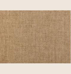 Brown flax linen canvas texture background vector