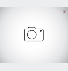 camera icon symbol logo vector image