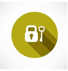 Key icons vector image