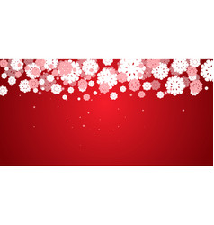 red new years christmas background vector image