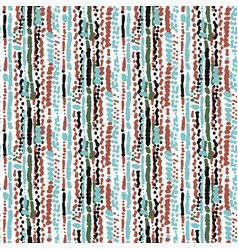 Seamless pattern traditional african wicker vector