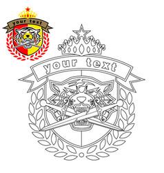 Tiger head logo vector