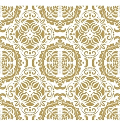 Wallpaper in the style of Baroquen Golden Abstract vector