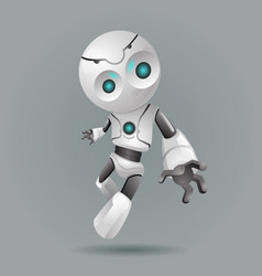 innovation technology science fiction future cute vector image vector image