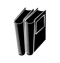 book library read learn pictogram vector image