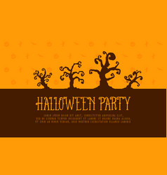 halloween party background style collection vector image vector image