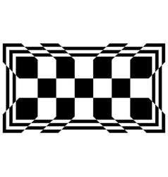 Converging chequered squares vector