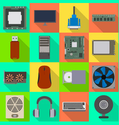 design accessories and device symbol vector image