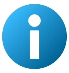 Information Gradient Icon vector
