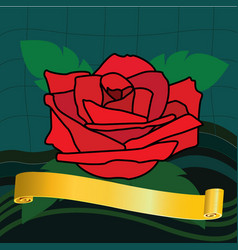 Rose image vector