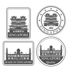 Singapore vector
