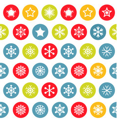 snow pattern on white background vector image