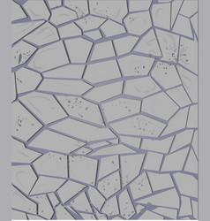 abstract stone wall grey texture vector image
