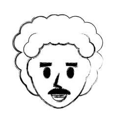 retro man cartoon vector image