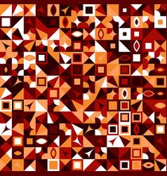 Abstract colorful random mosaic pattern vector