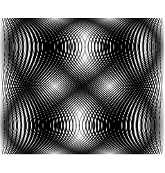 Abstract grid mesh lattice pattern intersecting vector