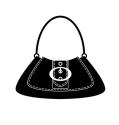 Dolly-bag - woman bag with buckle vector