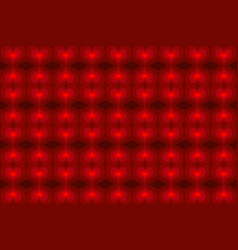 red heart - abstract background vector image