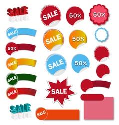 Sales banner - vector