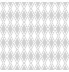 seamless geometric rhomb pattern background vector image