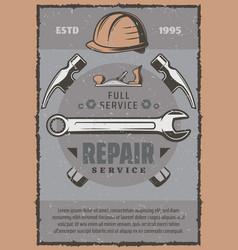Work tools and repair equipment vector